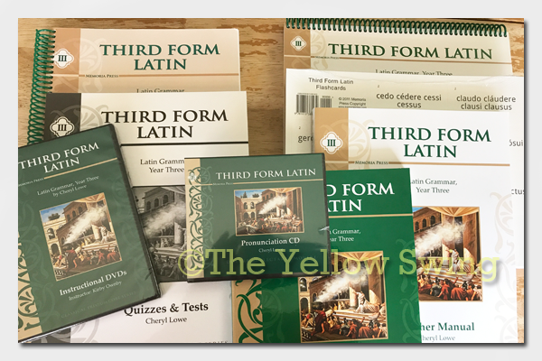 Memoria Press Third Form Latin